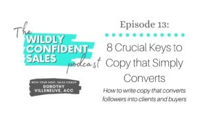 8 Crucial Keys to Copy that Simply Converts